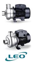 Leo ABK200 - 1.5KW 400V Semi-Open Impeller Centrifugal Pumps image 1
