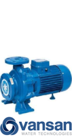 Vansan CM50-250C - 15KW 400V Standard Single Stage Centrifugal Pump (Flanged) image 1