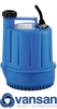 Vansan SPP-100CF / 0.1KW 230V Submersible Dewatering Pump For Dirty Water -  picture