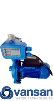 Vansan CPM180 + PS01 - 1.1KW 230V Single Stage Pump With Controller image 1