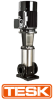 Tesk SVM 10-60 / 2.2KW 400V Stainless Steel Vertical Multistage Pump With Motor -  picture