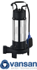 Vansan V1300DF - 1.3KW 230V Submersible Dewatering Pump With Cutter For Dirty Water -  picture