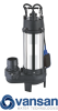 Vansan V2200DF - 2.2KW 230V Submersible Dewatering Pump With Cutter For Dirty Water -  picture