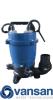Vansan V550AF - 0.55KW 230V Submersible Dewatering Pump For Dirty Water -  picture