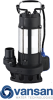 Vansan V750F - 0.75KW 230V Submersible Dewatering Pump For Dirty Water -  picture